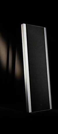 Solosound 100 electrostatic loudspeakers