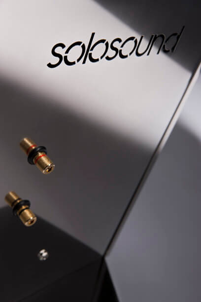 Solosound Solostatic 120 Swiss Edition connectors